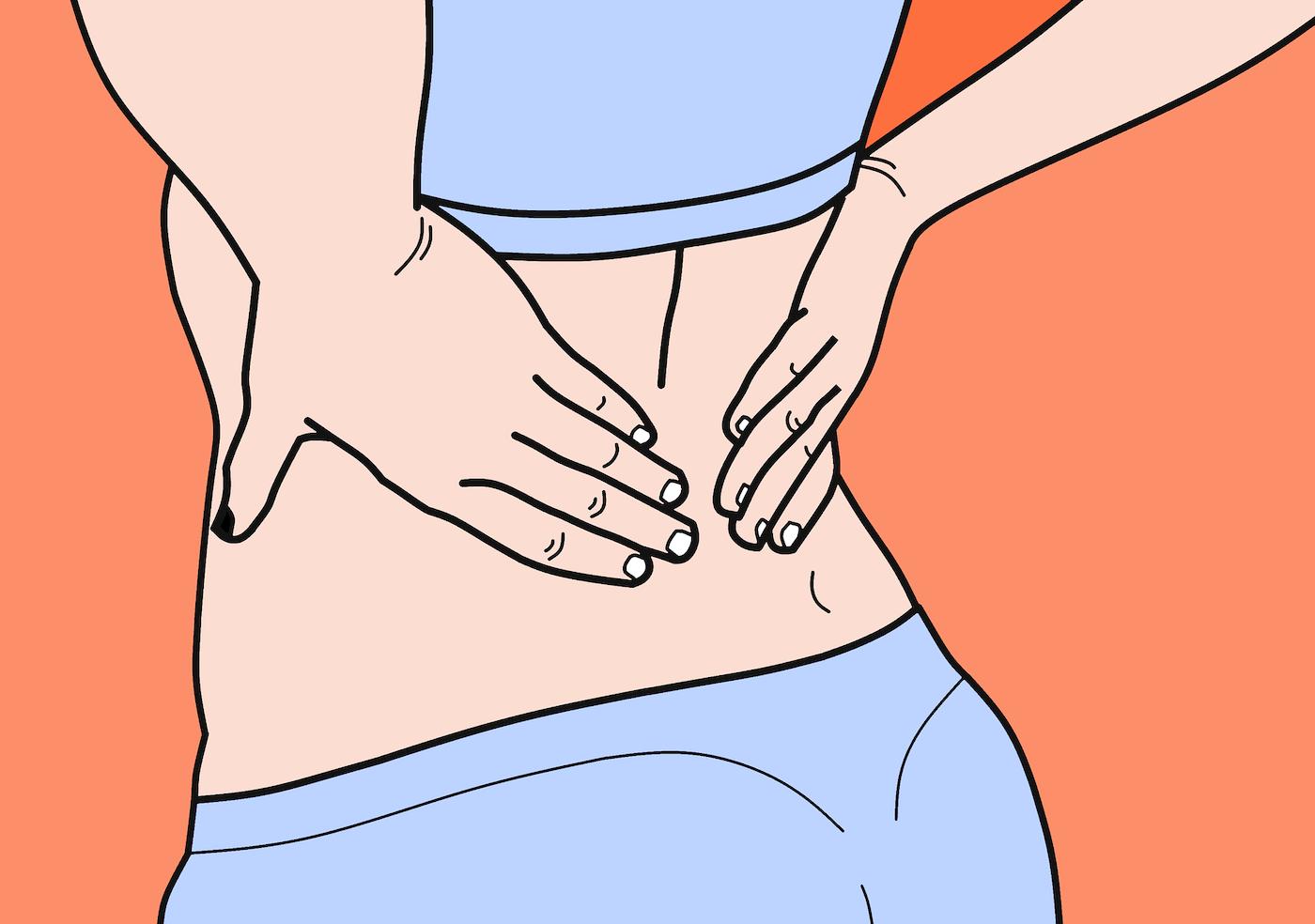 Mal di schiena? Come aiutarsi per alleviare il dolore